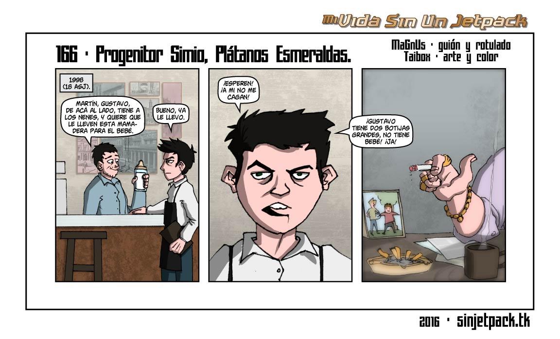 166 - Progenitor Simio, Platanos Esmeraldas.