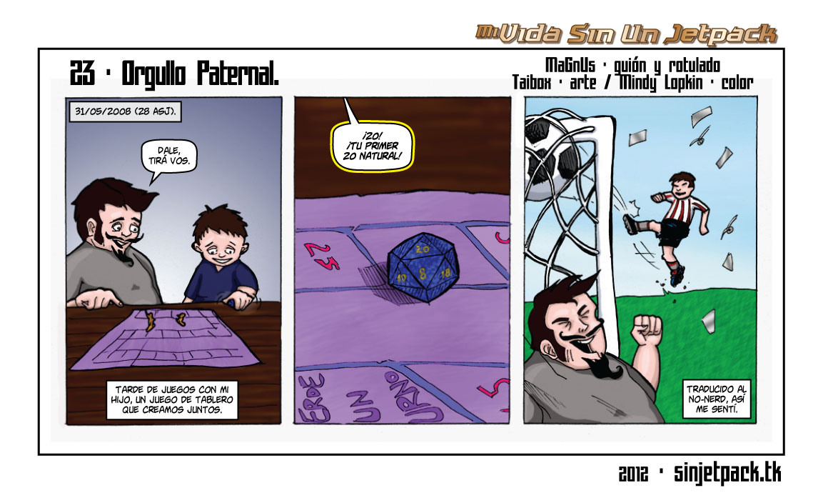 23 - Orgullo Paternal.