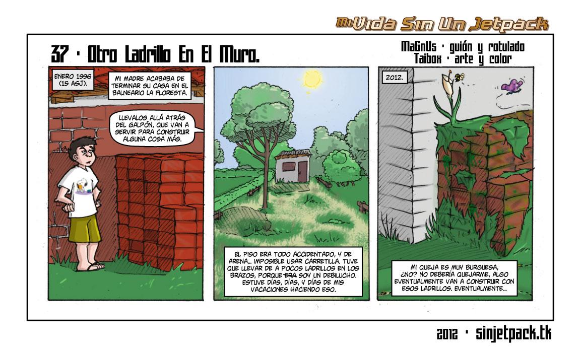 37 - Otro Ladrillo En El Muro.