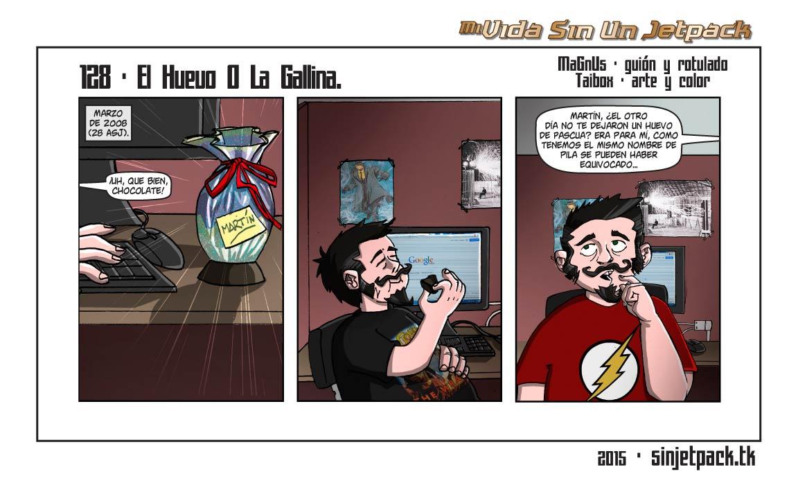 128 - El Huevo O La Gallina.